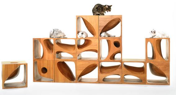 Arredamento Cubi Componibili.Cubi Componibili Per Gatti Alto Design